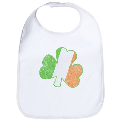 Vintage Irish Shamrock Bib
