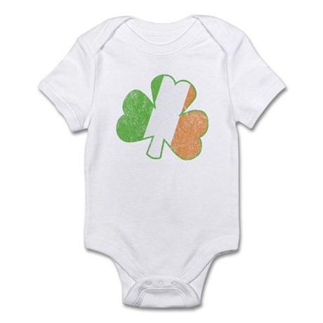 Vintage Irish Shamrock Infant Bodysuit