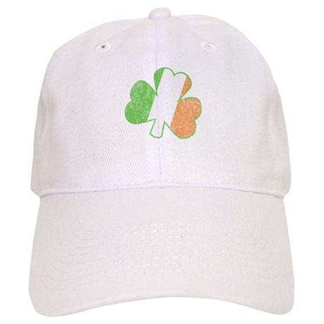 Vintage Irish Shamrock Cap