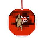 Krampus Rules Yule tree ornament