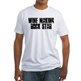 Wine Making Rock Star Shirt