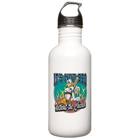 It's Not BBQ Chicken Stainless Water Bottle 1.0L