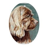 Ornament (Oval), Cocker Spaniel, 'Hershey'