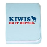 Kiwis Do it Better baby blanket