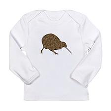 Brown Kiwi Long Sleeve Infant T-Shirt