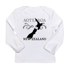 Aotearoa New Zealand Long Sleeve Infant T-Shirt