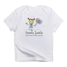Tennis Junkie Infant T-Shirt