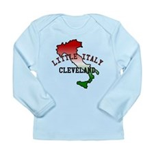 Little Italy Cleveland Long Sleeve Infant T-Shirt