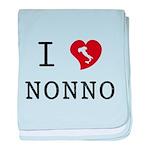I Love Nonno baby blanket