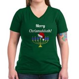 Merry Chrismukkah Menorah Shirt