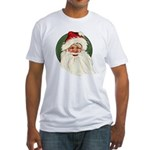 Vintage Santa Claus Fitted T-Shirt