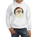 Vintage Santa Claus Hooded Sweatshirt