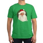 Vintage Santa Claus Men's Fitted T-Shirt (dark)