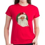 Vintage Santa Claus Women's Dark T-Shirt