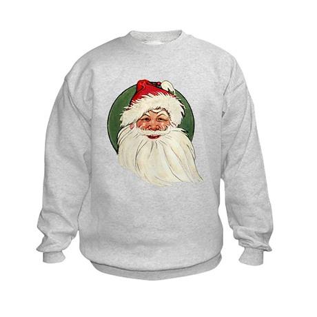 Vintage Santa Kids Sweatshirt
