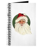 Vintage Santa Claus Journal