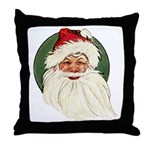 Vintage Santa Claus Throw Pillow