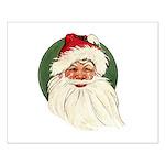 Vintage Santa Small Poster