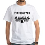 Firefighter Tattoos White T-Shirt