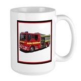Fire Engine Mug