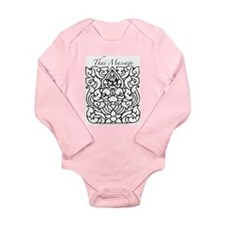 "Thai Massage ""Rama"" Design Long Sleeve Infant Body"