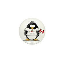 Canada Penguin Mini Button (100 pack)