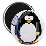"Tennis Penguin 2.25"" Magnet (10 pack)"