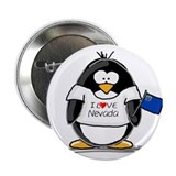 "Nevada Penguin 2.25"" Button (10 pack)"
