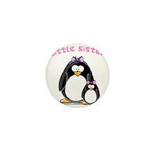 Little Sister penguin Mini Button (10 pack)