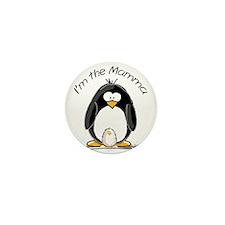 I am the Mamma Penguin Mini Button (10 pack)