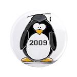 """2009 Graduation Penguin 3.5"""" Button (100 pack"""