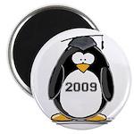 """2009 Graduation Penguin 2.25"""" Magnet (100 pac"""