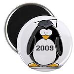 "2009 Graduation Penguin 2.25"" Magnet (10 pack"