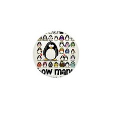 too many penguins Mini Button (100 pack)