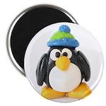 Clay Green Beanie Penguin 2.25