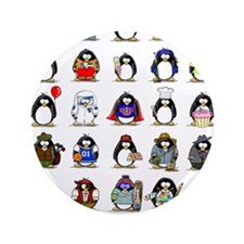 "Lots of Penguins 3.5"" Button (100 pack)"