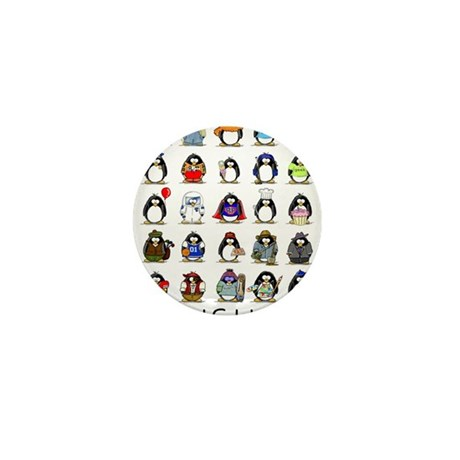 Lots of Penguins Mini Button (100 pack)