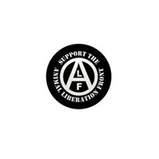 Animal liberation front Mini Button