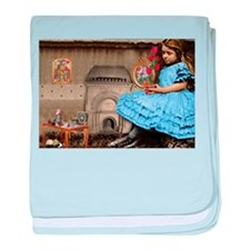 Alice All Grown Up baby blanket