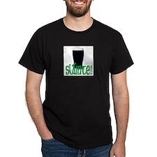 Cheers Black T-Shirt