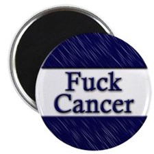 "Fuck Cancer 2.25"" Magnet (10 pack)"