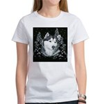 Alaskan Malamute Winter Desig Women's T-Shirt