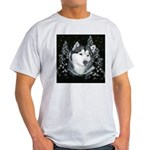 Alaskan Malamute Winter Desig Light T-Shirt