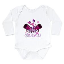 Future Cheerleader Long Sleeve Infant Bodysuit
