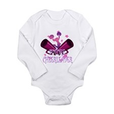 Future Cheerleader Onesie Romper Suit