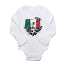 Soccer Fan Mexico Long Sleeve Infant Bodysuit