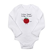 Tomate Long Sleeve Infant Bodysuit