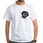 Musky Hunter White T-Shirt
