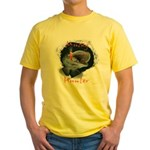 Musky Hunter Yellow T-Shirt