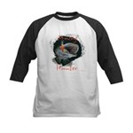 Musky Hunter Kids Baseball Jersey